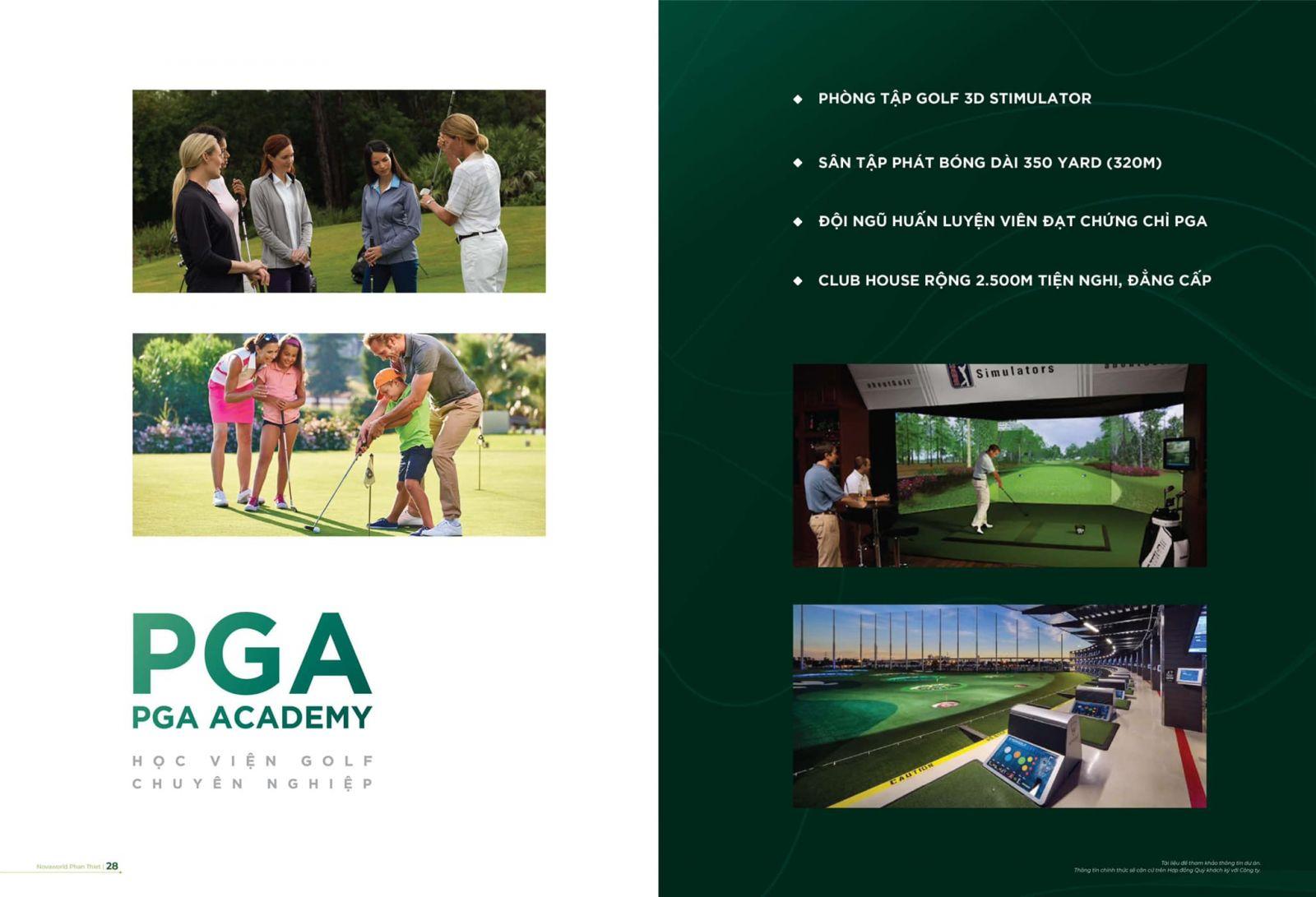 đào tạo golf