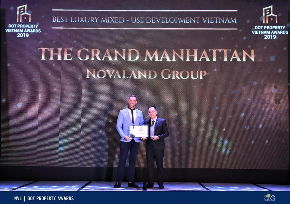 giải thưởng khu phức hợp tốt nhất căn hộ manhattan quận 1